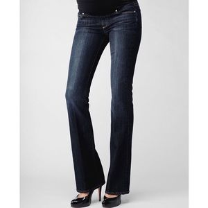 Paige Maternity Benedict Canyon Bootcut Jeans
